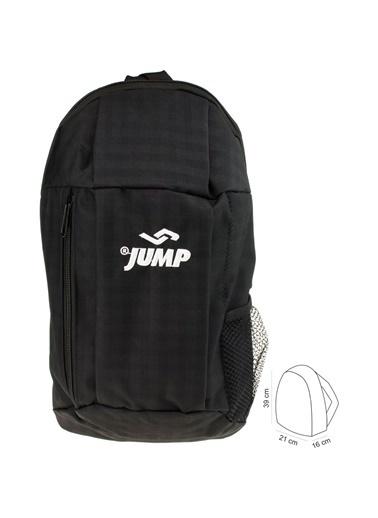 Jump Jump 1010 Seyehat Gezi Antreman Unisex Sırt Çantası Siyah